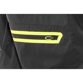 100% Corridor Windbreaker Jakke Herrer, black/yellow